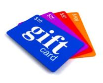 gift cards 2